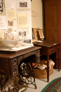 Julia Ward Howe's writing desk.