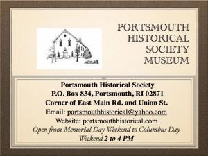 PHS Genealogy TALK