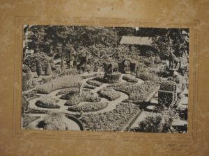 Green Animals Garden PHS vintage image