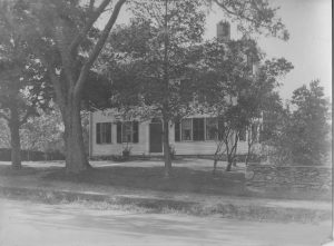 Vintage image of tavern