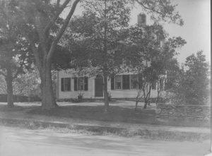 Vintage image of tavern