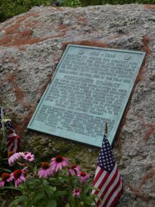 Compact Memorial Plaque